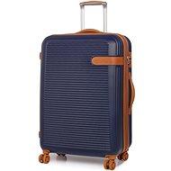 Rock Valiant TR-0159/3-L ABS – modrá - Cestovný kufor s TSA zámkom