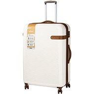 Rock Valiant TR-0159/3-XL ABS – krémová - Cestovný kufor s TSA zámkom