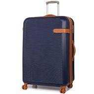 Rock Valiant TR-0159/3-XL ABS – modrá - Cestovný kufor s TSA zámkom