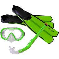 Calter Kids S06 + M168 + F41 PVC, green - Diving Set