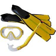 Calter Kids S06 + M168 + F41 PVC, yellow - Diving Set