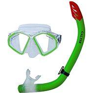 Calter Senior S09 + M283 P + S, green - Diving Set