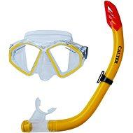 Calter Senior S09 + M283 P + S, yellow - Diving Set