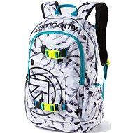 Meatfly Basejumper 3 Backpack, N - Mestský batoh
