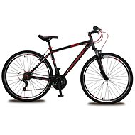 "Olpran Player 28 – M/19"" čierna/červená (2017) - Crossový bicykel"