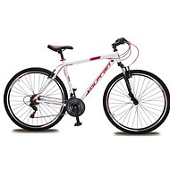 "Olpran Player 28 – M/19"" biela/červená (2017) - Crossový bicykel"