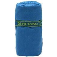 SHERPA Dry Towel blue L - Uterák