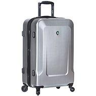 MIA TORO M1535/3-XL strieborný - Cestovný kufor s TSA zámkom