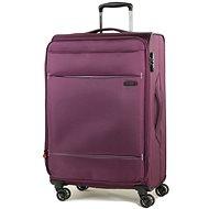 ROCK TR-0161/3-M – fialový - Cestovný kufor s TSA zámkom