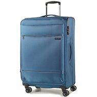 ROCK TR-0161/3-M – modrý - Cestovný kufor s TSA zámkom