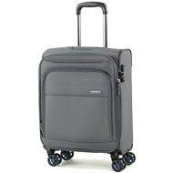 ROCK TR-0162/3-S – sivý - Cestovný kufor s TSA zámkom