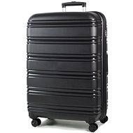 ROCK TR-0164/3-L PP – čierna - Cestovný kufor s TSA zámkom