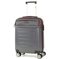 ROCK TR-0166/3-S ABS/PES – charcoal - Cestovný kufor s TSA zámkom