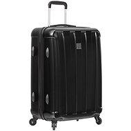SIROCCO T-1162/3-L ABS/PC – čierna - Cestovný kufor s TSA zámkom