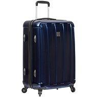 SIROCCO T-1162/3-L ABS/PC – modrá - Cestovný kufor s TSA zámkom