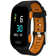 CUBE1 Smart band LY116 Black/orange - Fitness náramok