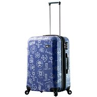 MIA TORO M1089/3-M modrý - Cestovný kufor s TSA zámkom