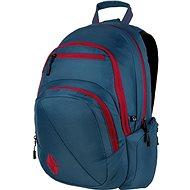 Nitro Stash Blue Steel - Školský batoh