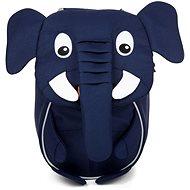 Affenzahn Emil Elephant small – blue - Detský ruksak