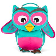 Affenzahn Olivia Owl small – turquoise - Detský ruksak