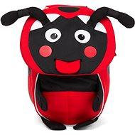 Affenzahn Lilly Ladybird small – red - Detský ruksak