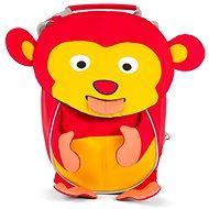 Affenzahn Marty Monkey small – red - Detský ruksak