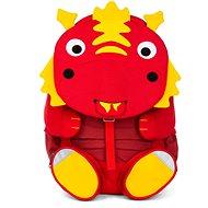 Affenzahn Daria Dragon large – Red - Detský ruksak