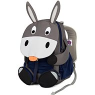 Affenzahn Don Donkey large – grey - Detský ruksak