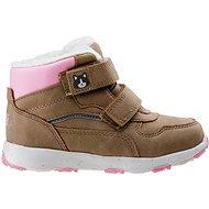Bejo Eladio kids G Beige/Pink/Reflective - Trekingové topánky