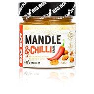 BIG BOY Mandle a chilli 250 g - Orechový krém