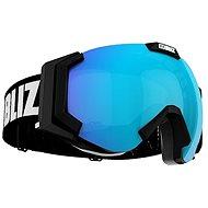 Bliz Carver – Black – Light Orange w Blue Multi - Lyžiarske okuliare