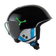 Cébé Suspense – Shiny Black Green veľ. 54 – 56 cm - Detská lyžiarska prilba