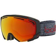 Bollé Supreme Otg-Matte Dark Grey & Red-Phantom Fire Red - Lyžiarske okuliare