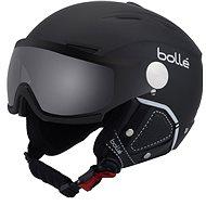 Bollé Backline Visor Premium-Soft Black & White - Lyžiarska prilba