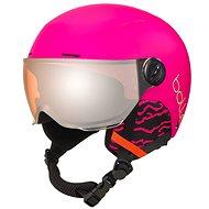 Bollé Quiz Visor-Matte Hot Pink - Lyžiarska prilba