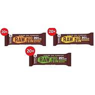 Bombus Raw protein 50 g 20 ks - Raw tyčinka