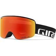 GIRO Axis Black Wordmark Viv Ember/Viv Infrared - Lyžiarske okuliare