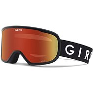 GIRO Roam Black Core Amber Scarlet/Yellow (2Skla) - Lyžiarske okuliare