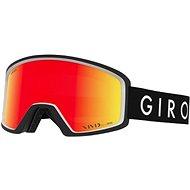 GIRO Blok Black/White Core Vivid Ember - Lyžiarske okuliare