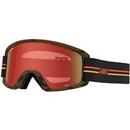GIRO Semi GP Black/Orange Amber Scarlet/Yellow (2Skla) - Lyžiarske okuliare