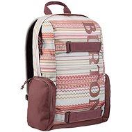 Burton Emphasis Pack Aqua Gray Revl Print - Mestský batoh