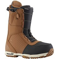 Burton IMPERIAL BROWN/BLACK - Topánky na snowboard