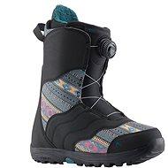 Burton MINT BOA BLACK/MULTI - Topánky na snowboard