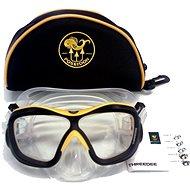 Poseidon 3D Pure/Yellow - Potápačská maska
