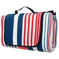 Calter Quod pikniková, pruhy modro-červené - Pikniková deka