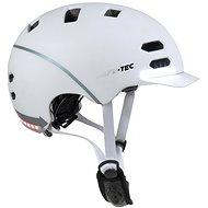 Varnet Safe-Tec SK8 White - Prilba na bicykel