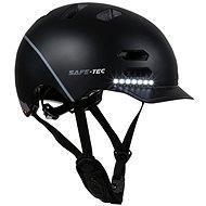Varnet Safe-Tec SK8 Black - Prilba na bicykel