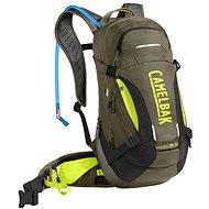 CamelBak MULE LR 15 Burnt Olive/Lime Punch - Cyklistický batoh