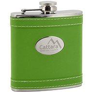 Cattara Fľaša ploskačka zelená 175 ml - Fľaša na vodu
