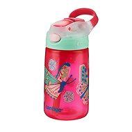 Fľaša na vodu Contigo James ružová s motýlikmi